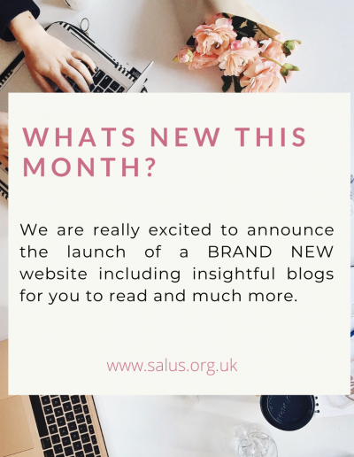 We are excited to launch our BRAND NEW website this month