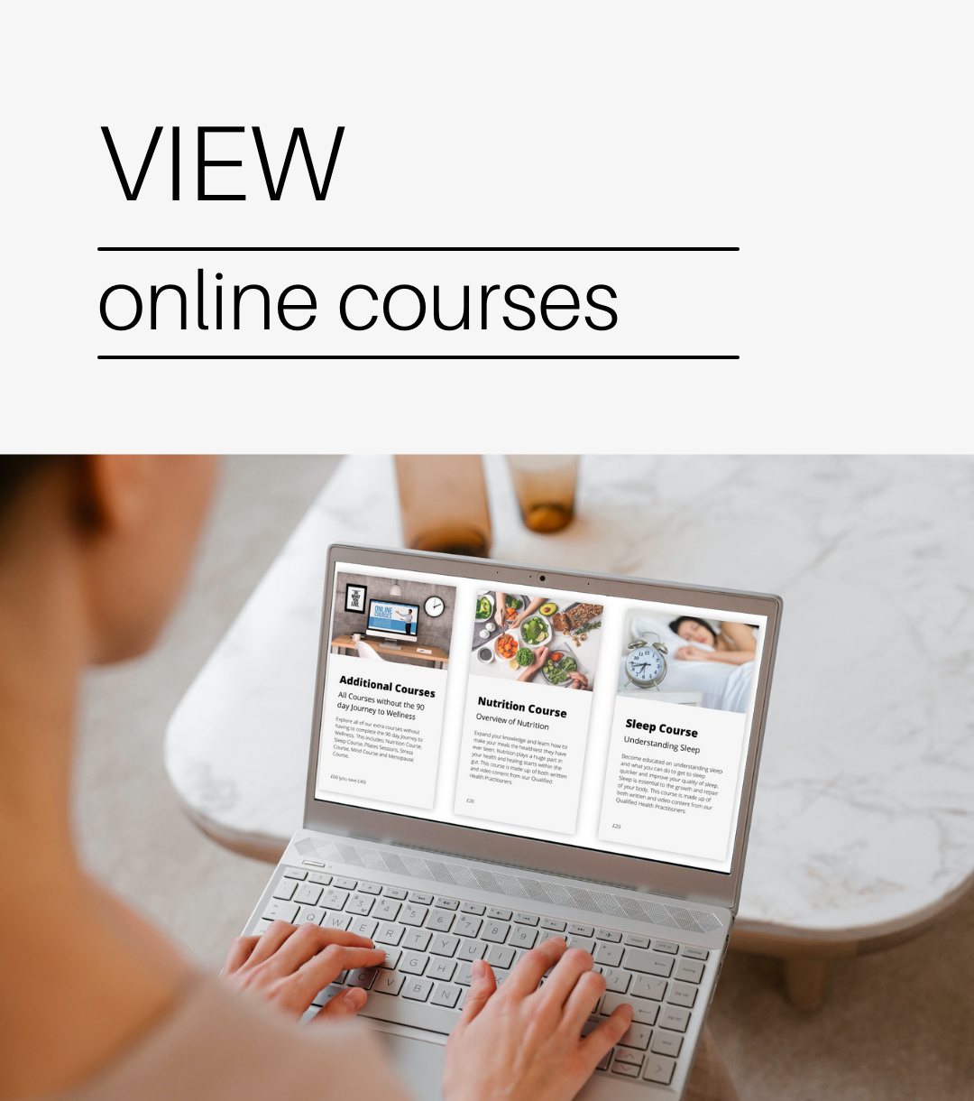 View our courses