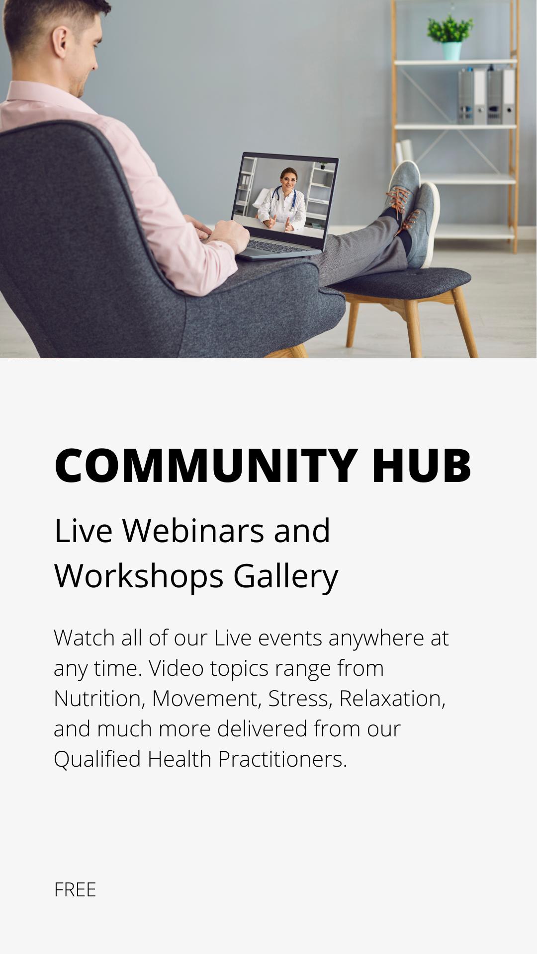 Community Hub free course icon