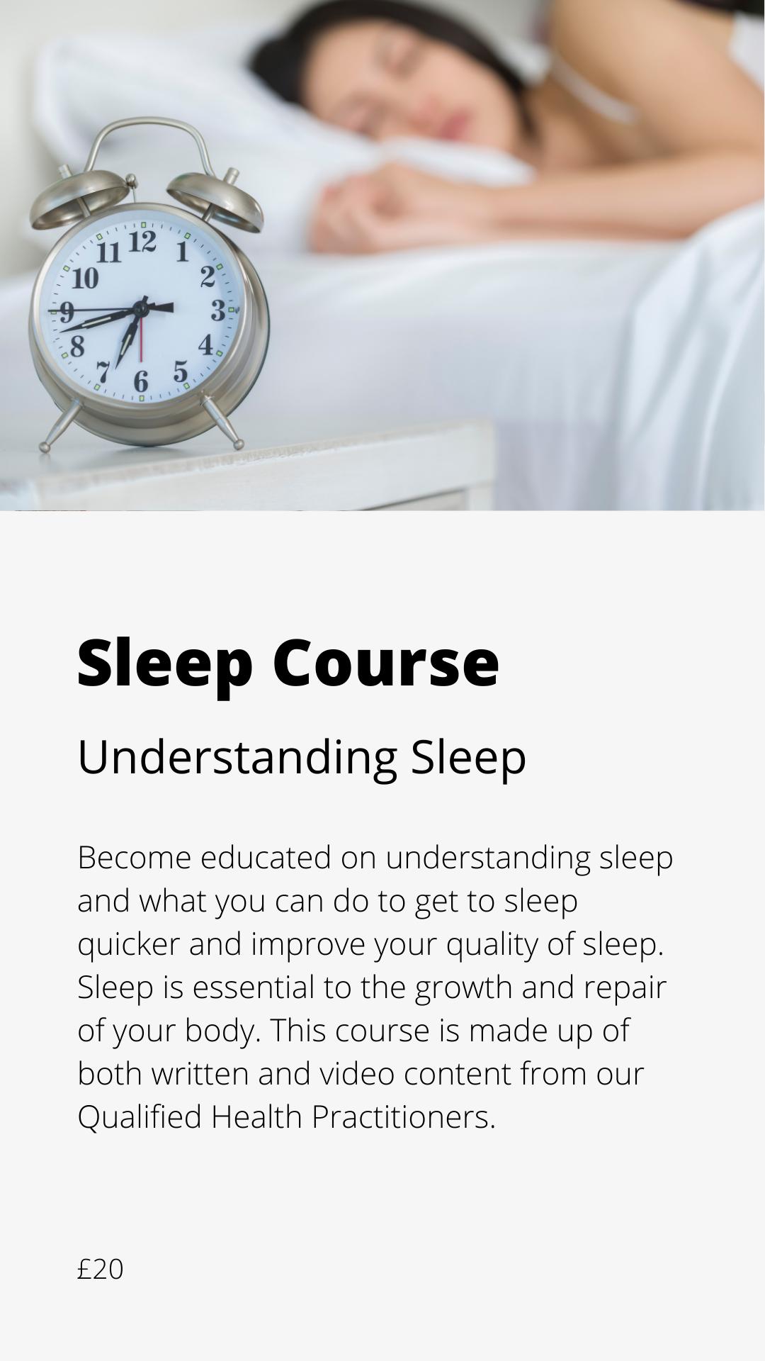 Sleep Course Icon